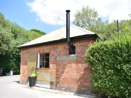 The gatehouse in the sun