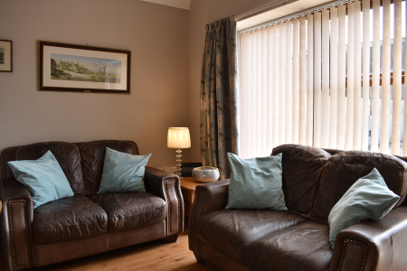 Sofas in the holiday cottage