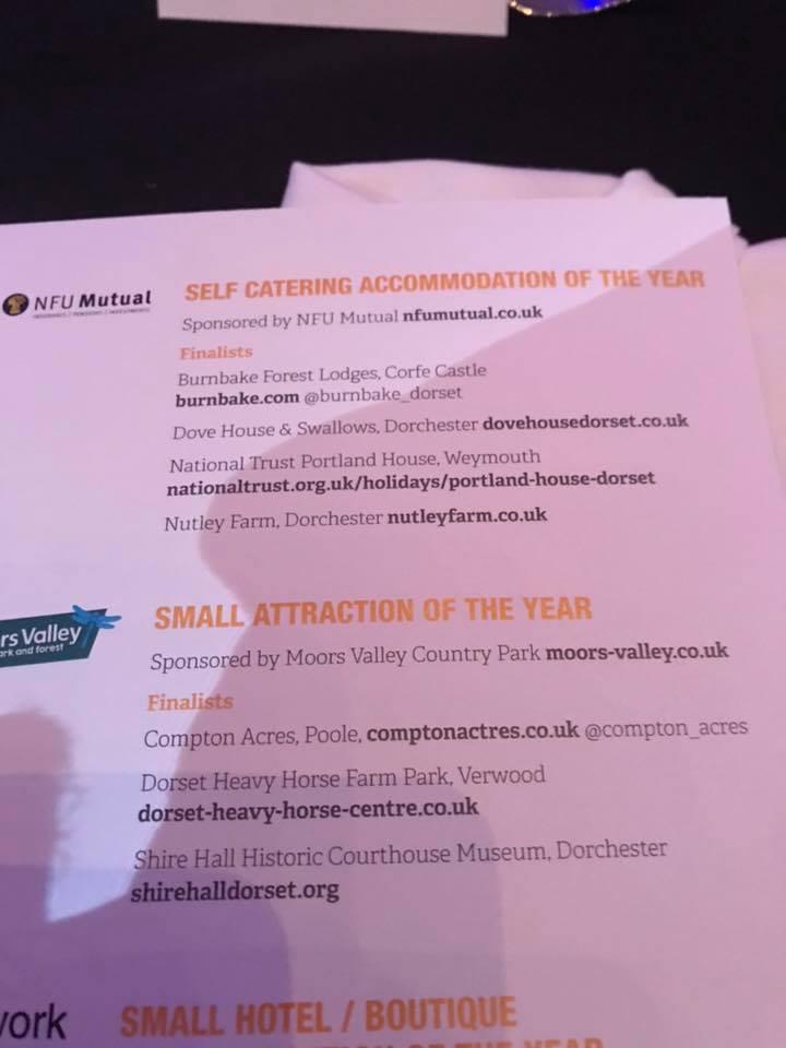 The award nominations