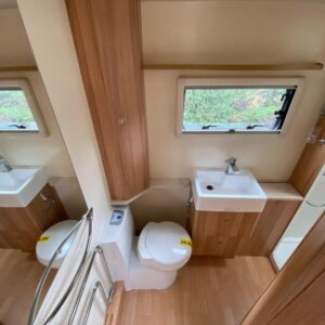 Inside Heath View Caravan
