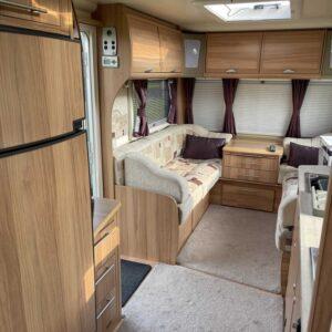 Inside Caravan At Nutley Farm
