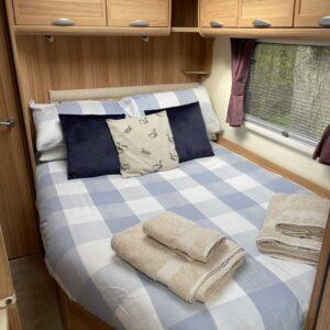 Bedroom In Caravan At Nutley Farm