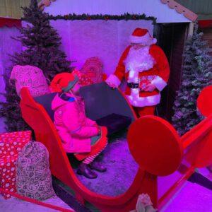 Father Christmas And Reindeer Daytime Visits